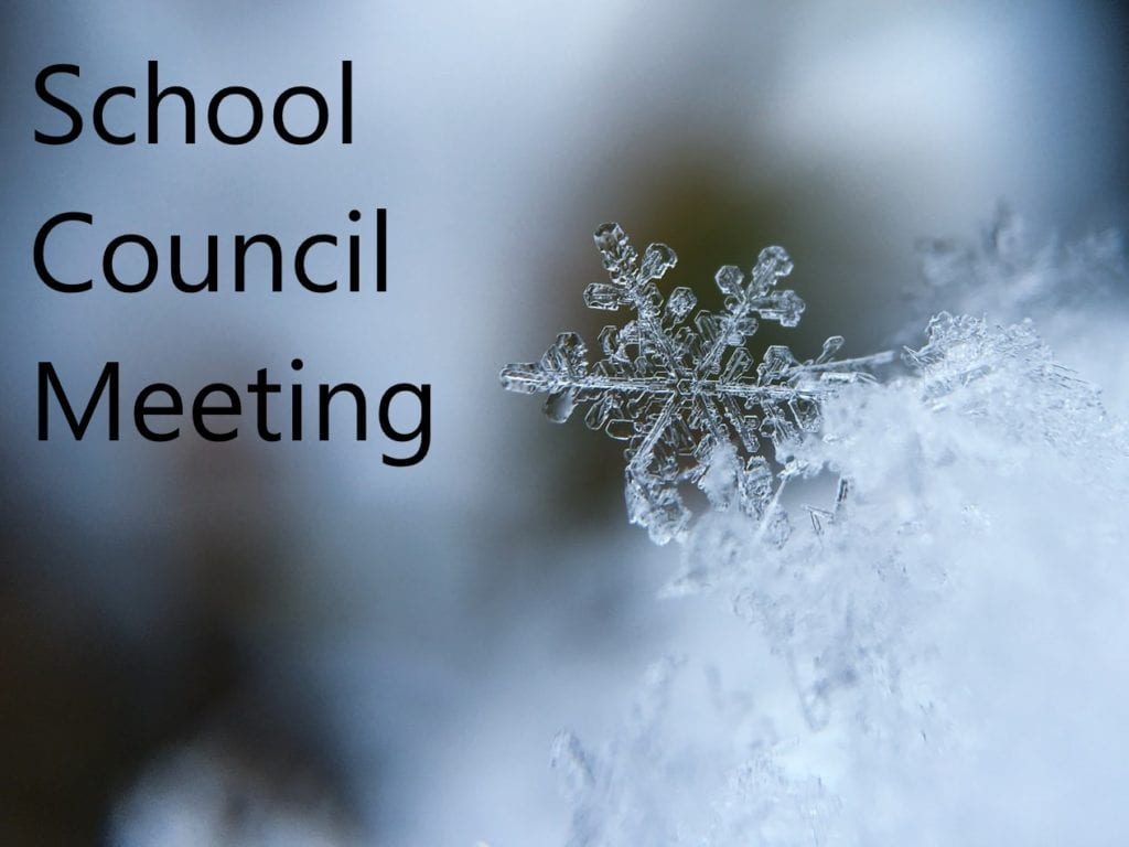 Catholic School Council Meeting – Feb 11, 2020