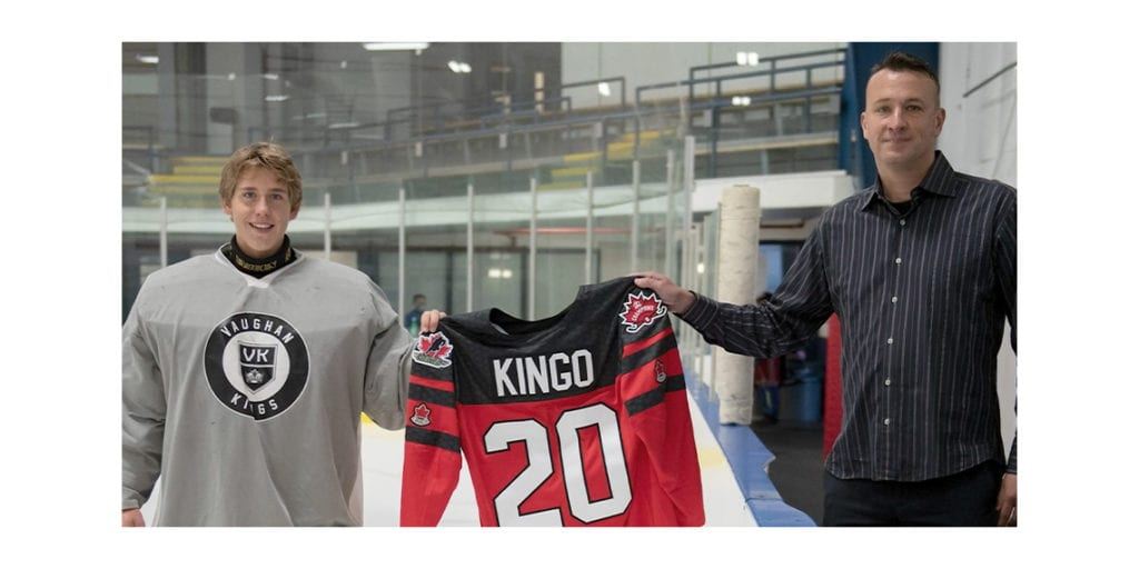 Mikael Kingo Named Hockey Canada Champion