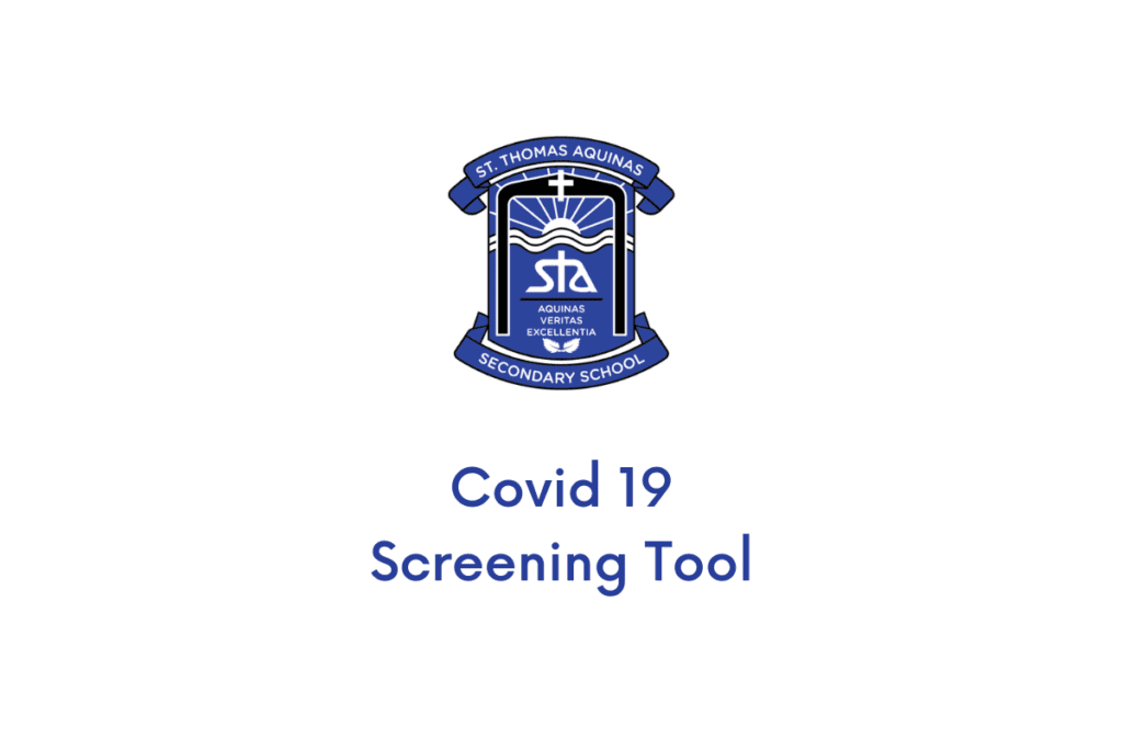 COVID-19 School and Child Care Screening Tool