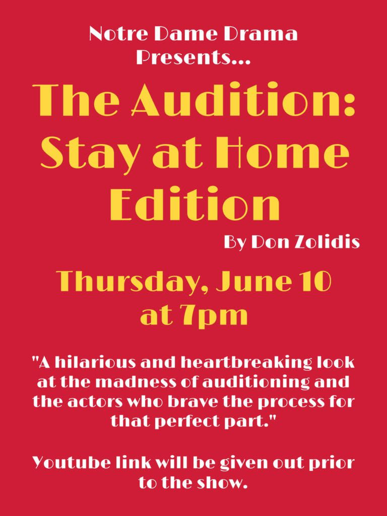 The Audition – June 10th
