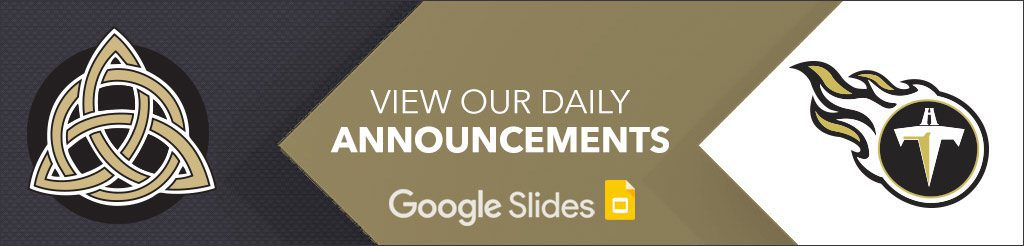 View Our Daily Announcements on Google Slides