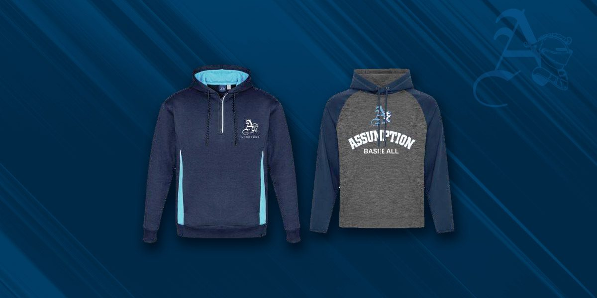 Assumption Spirit Wear Available to Purchase