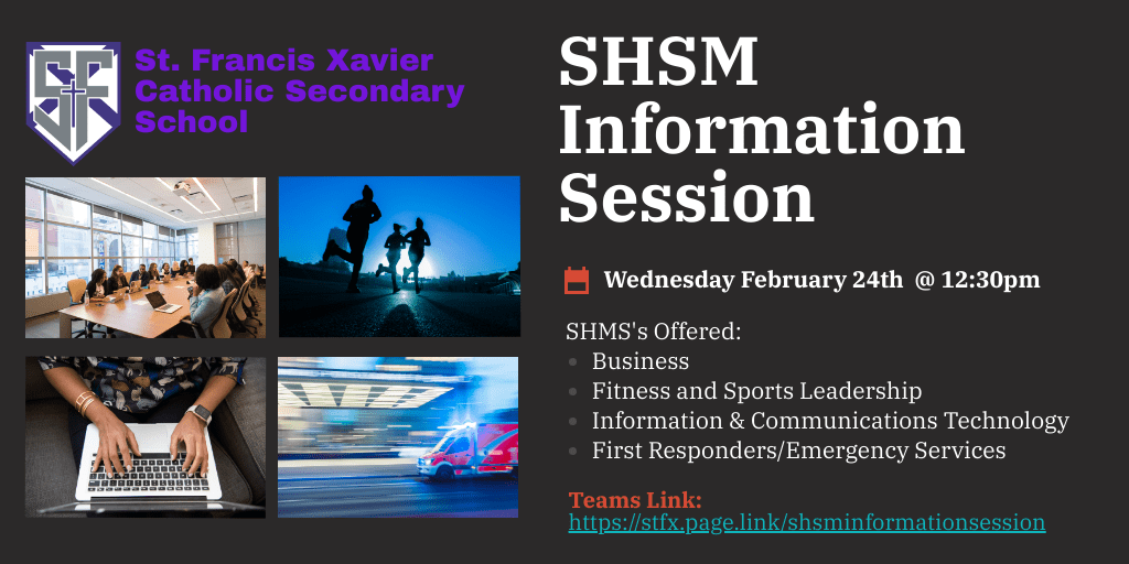 SHSM Information Session