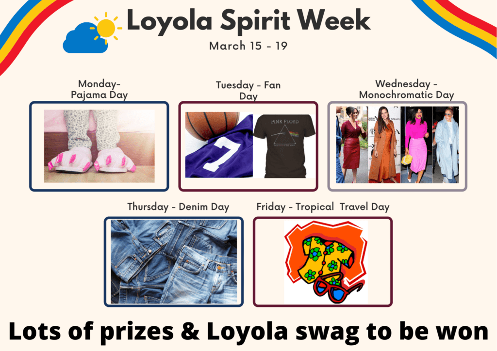 loyola spirit week