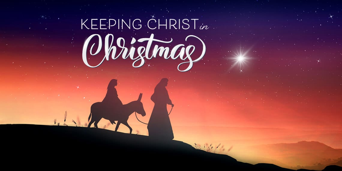 Keeping Christ in Christmas 2020 artwork