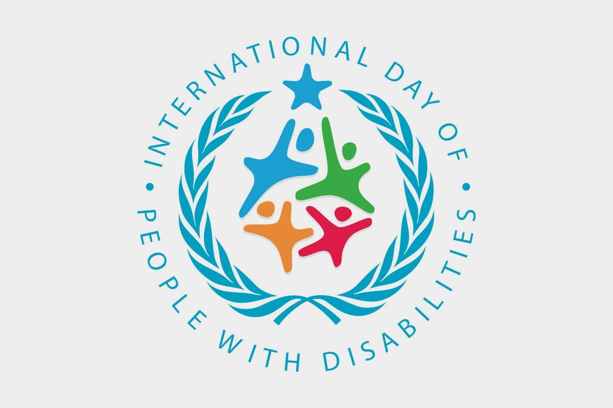 International Day of People with Disabilities logo