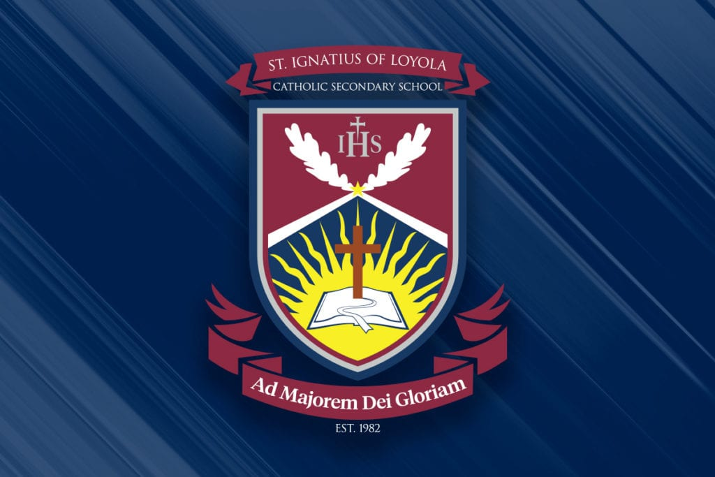 St. Ignatius of Loyola Catholic Secondary School logo,