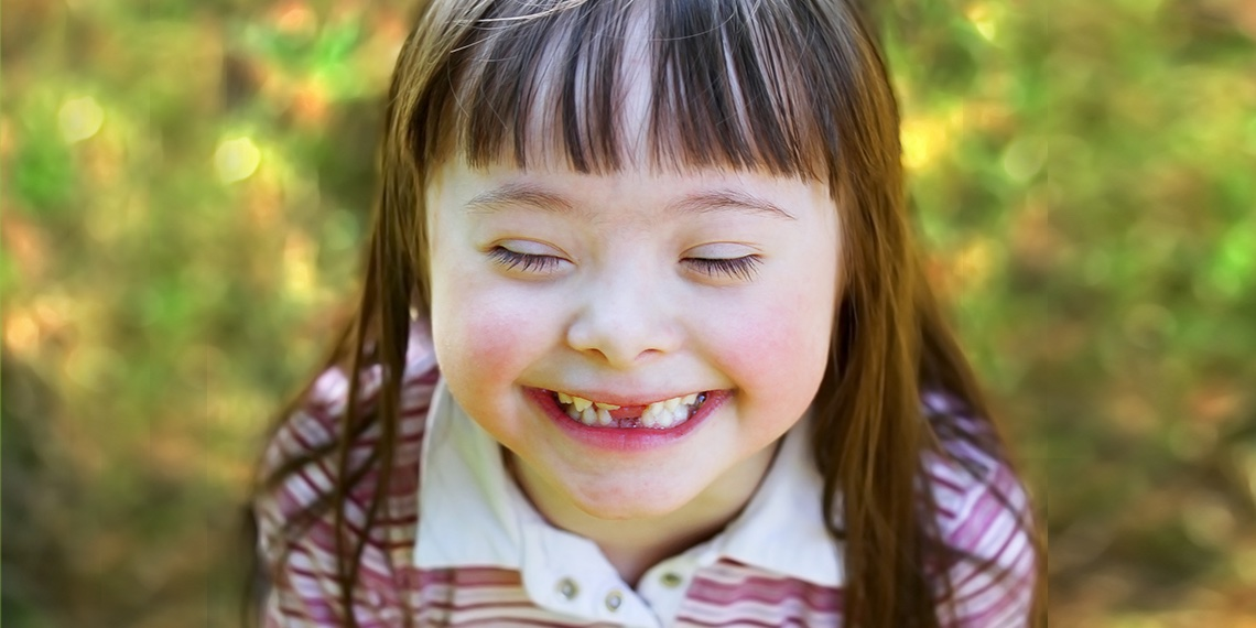 Photo of young child with Special Needs
