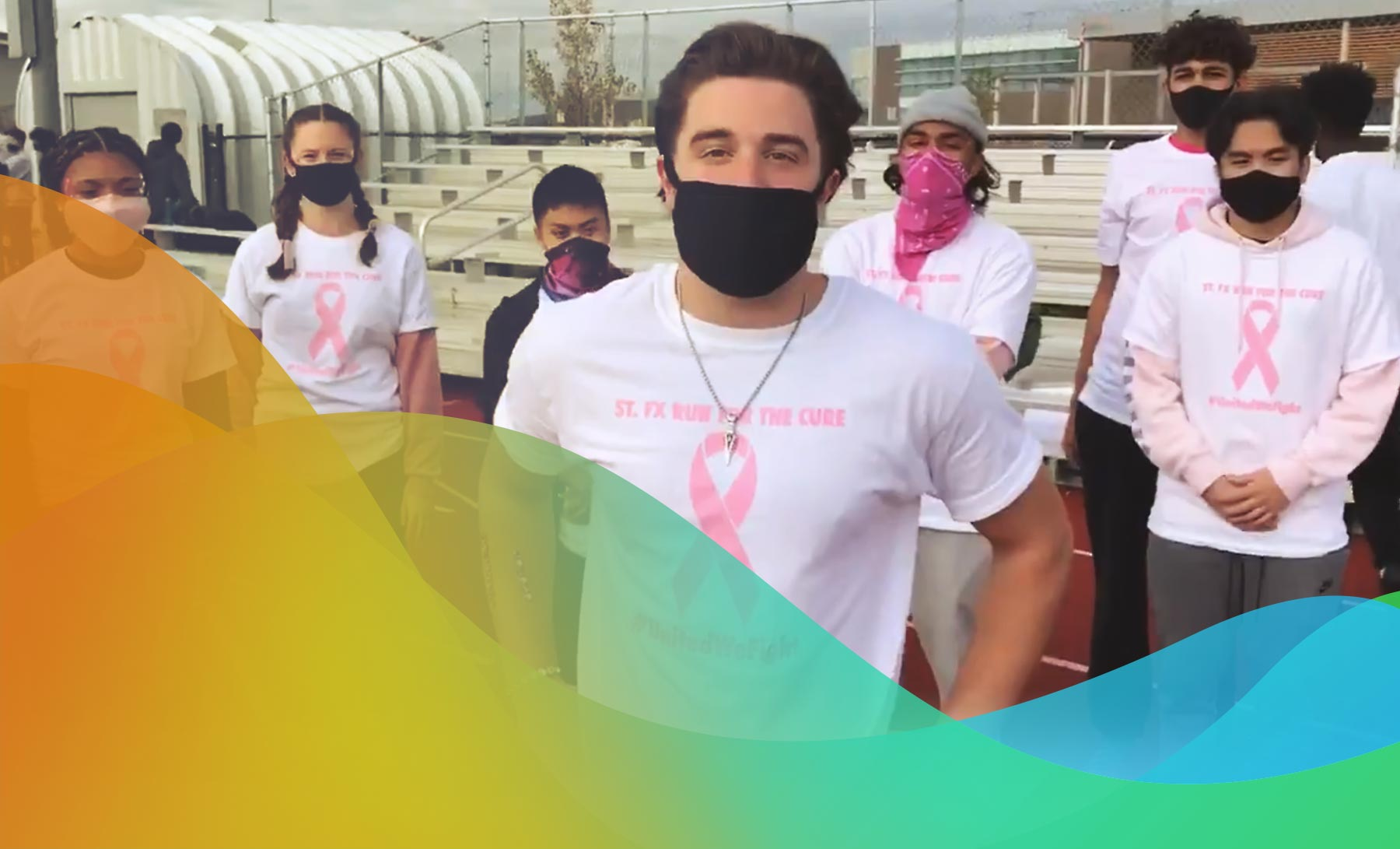 St. Francis Xavier Students Run for the Cure