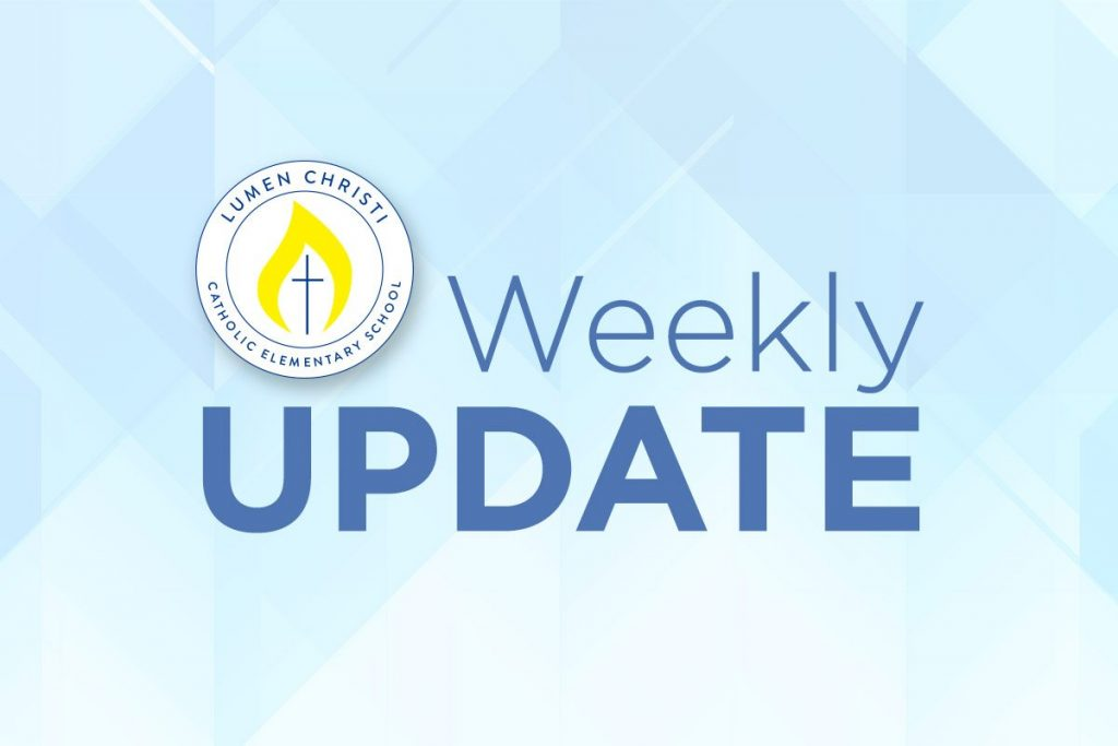 Parent Weekly Update January 27-31