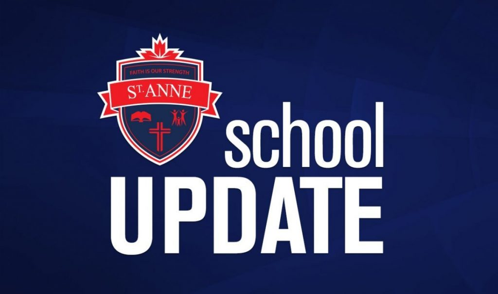School Update: Oct. 26