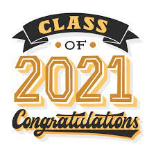 Free Vector | Hand drawn class of 2021 lettering