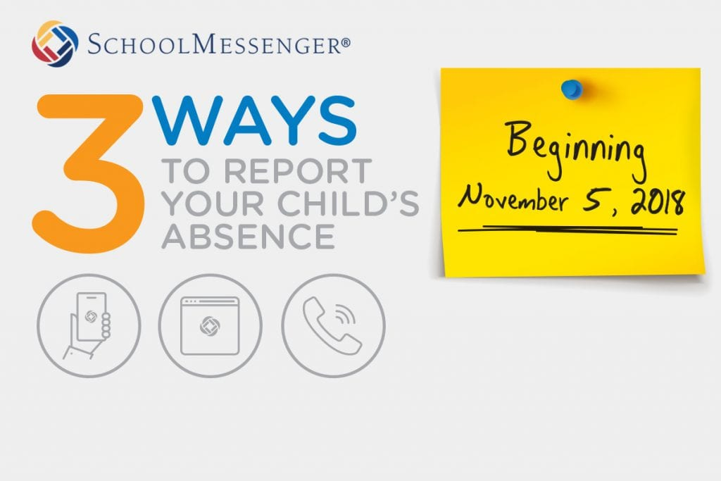 SafeArrival Student Absence Reporting is Here!
