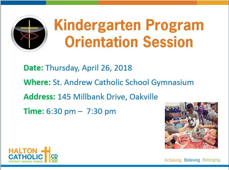 Kindergarten Orientation Session