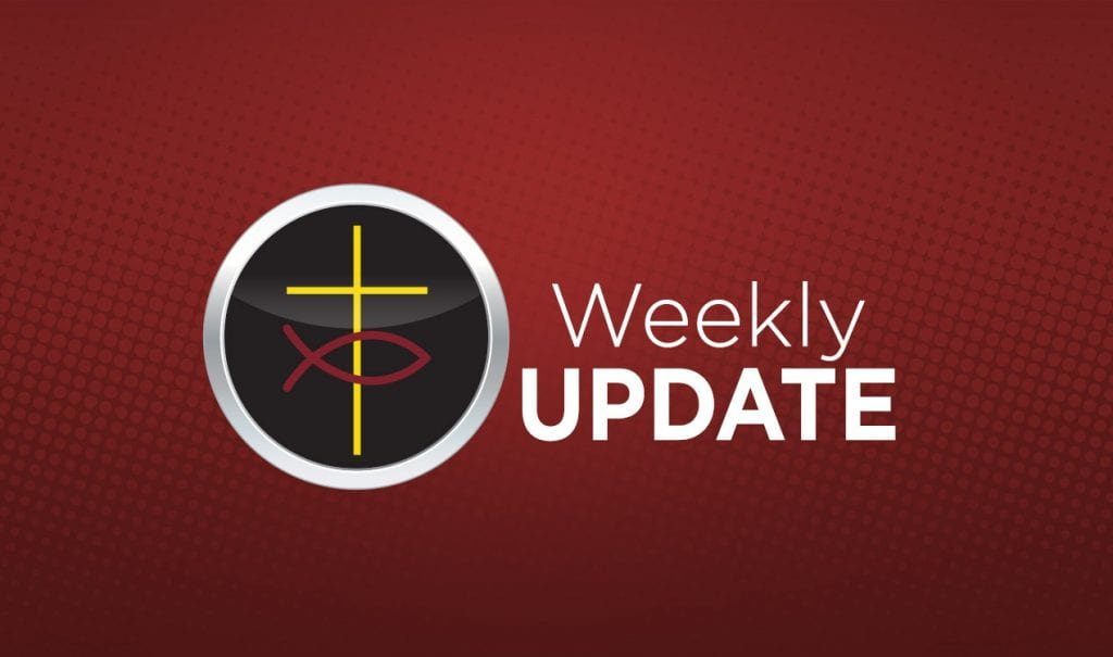 Weekly Update January 27, 2020