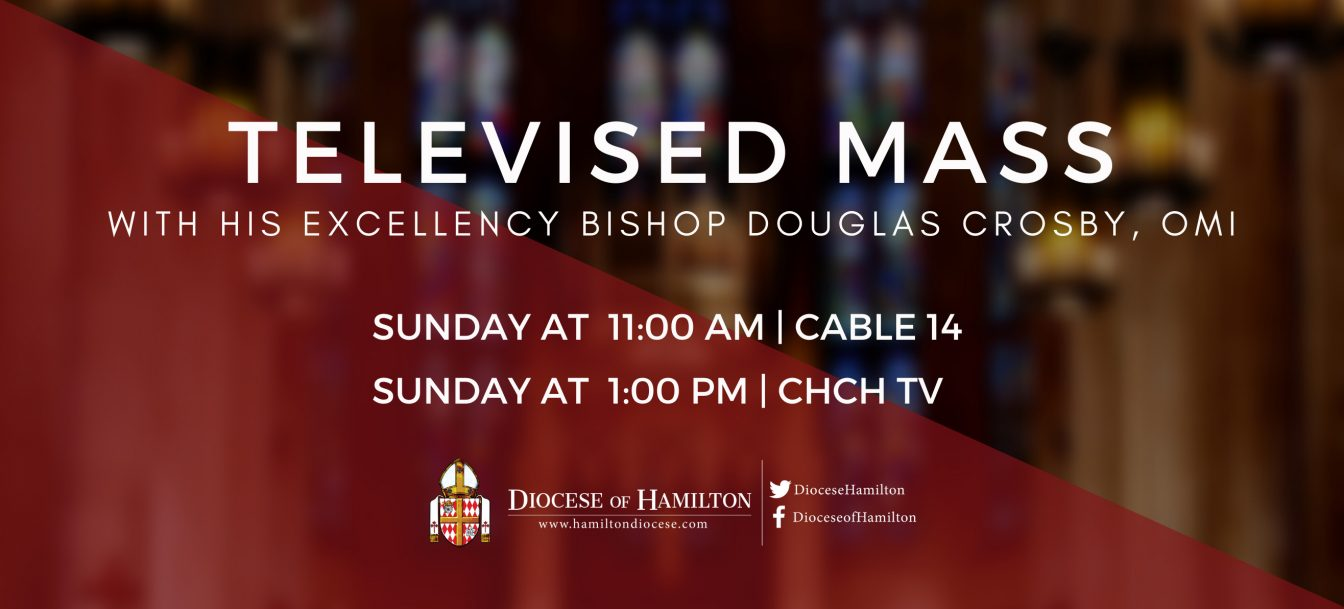 Televised Sunday Mass with Bishop Crosby