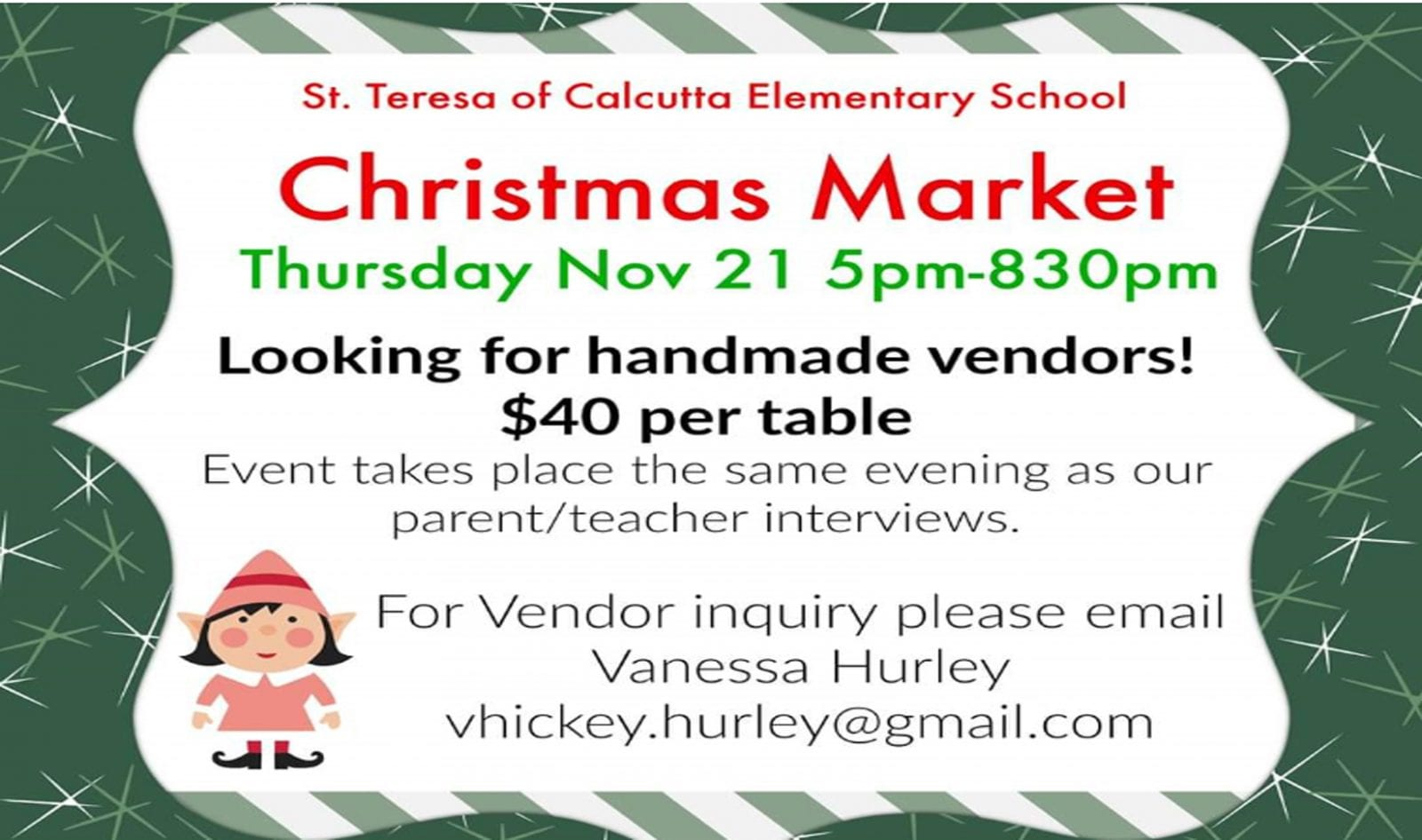 The Christmas Market is Coming!