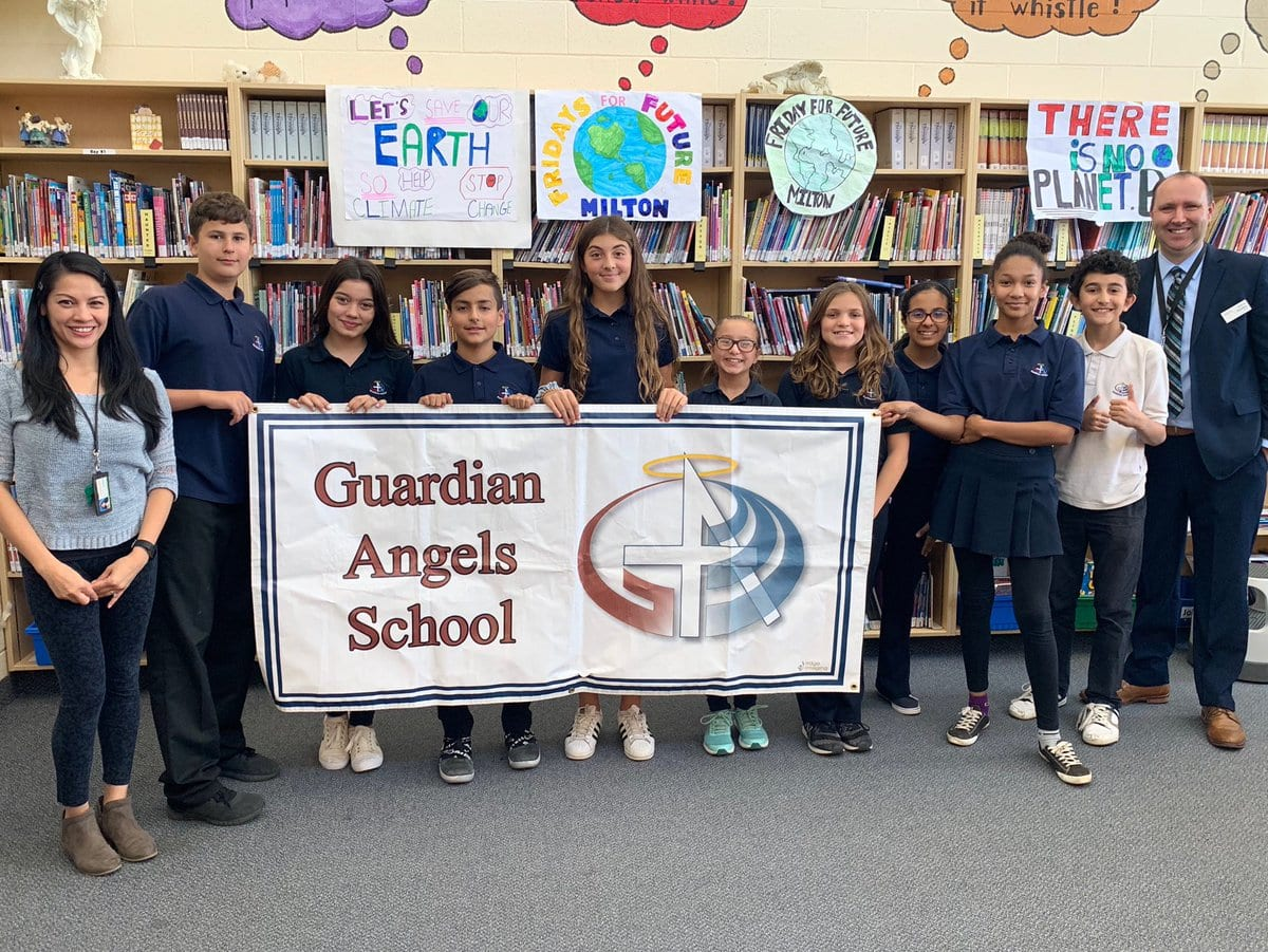 Guardian Angels Students Making Changes to Change the Future!