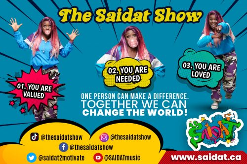 Black History Month by The Saidat Show