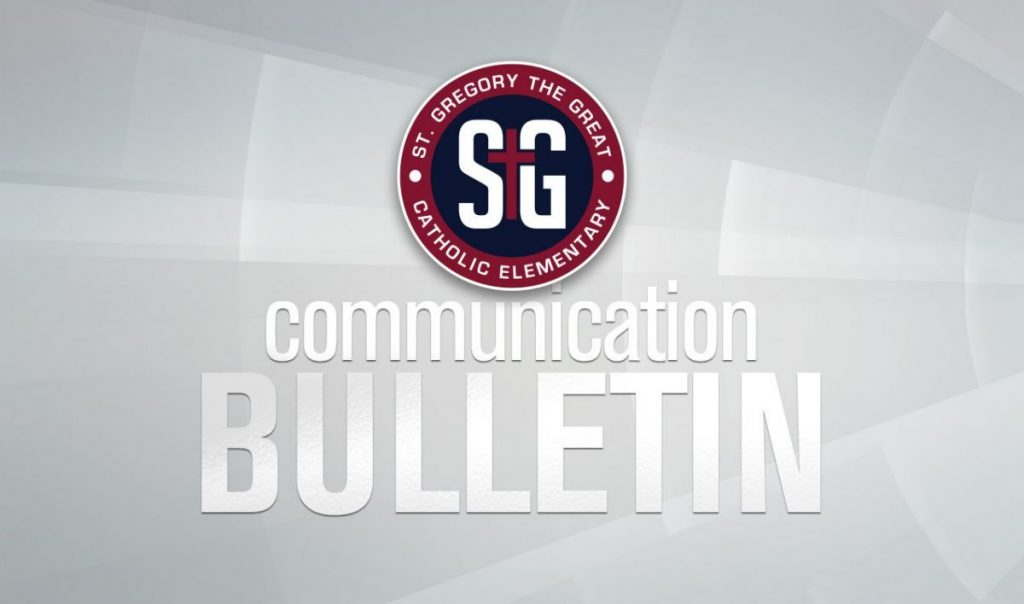 Communication Bulletin – May 29, 2020