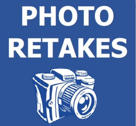 Picture Re-Take Day - Friday, November 12, 2021 @ St. Raphael Elementary School