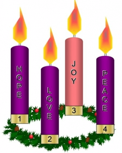 Second Week of Advent Prayer & Candle Lighting
