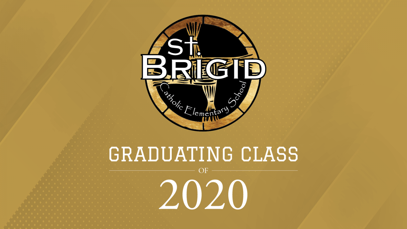 St Brigid grad cover