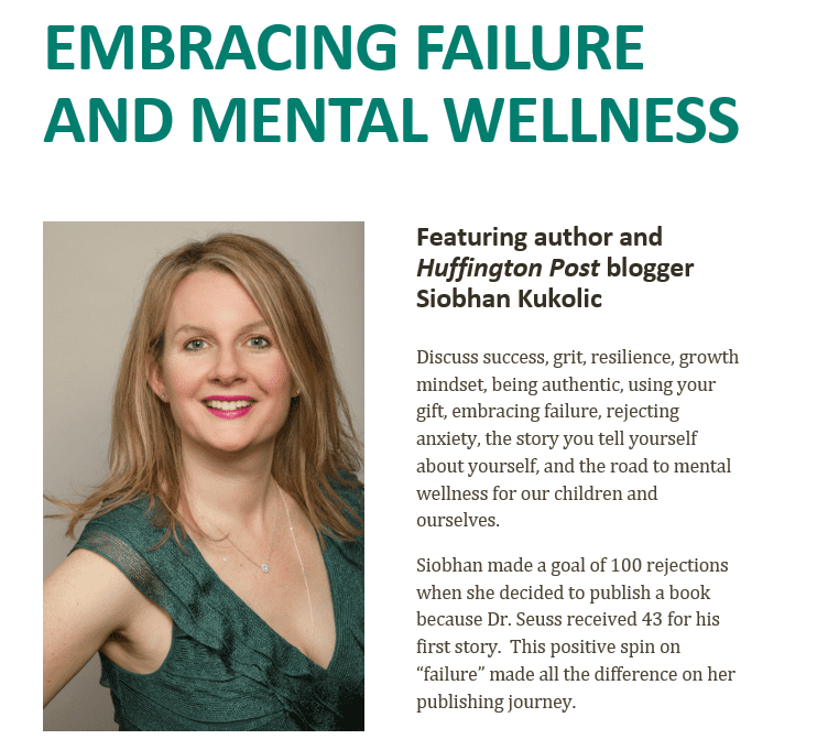 Embracing Failure and Mental Wellness Presentation