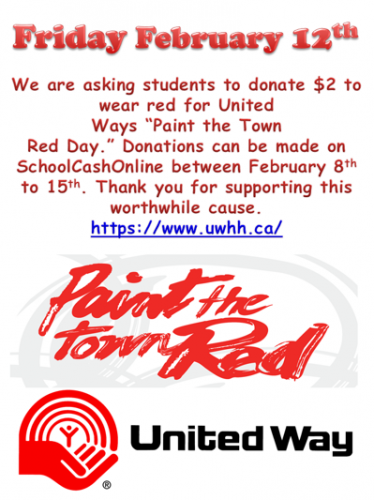 Paint the Town Red for United Way!