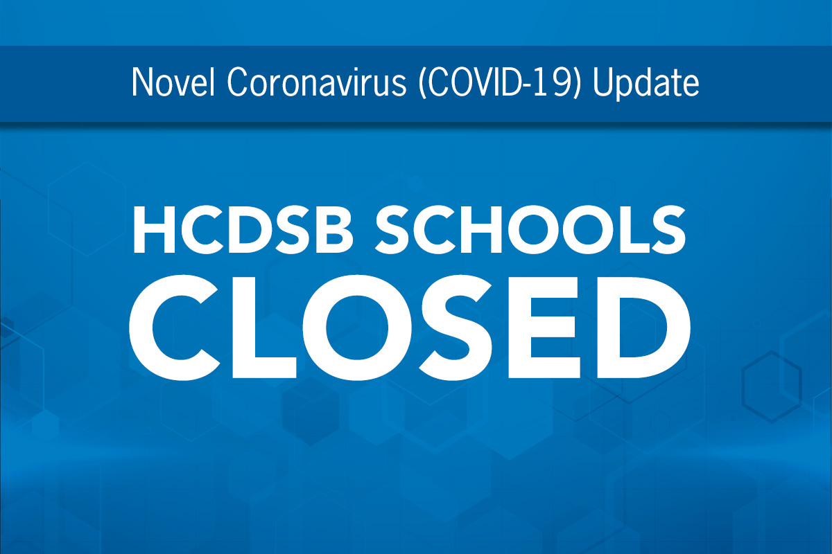All Schools will Remain CLOSED Until Friday, May 1, 2020