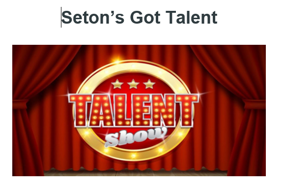 St. Elizabeth Seton Talent Show June 2020!
