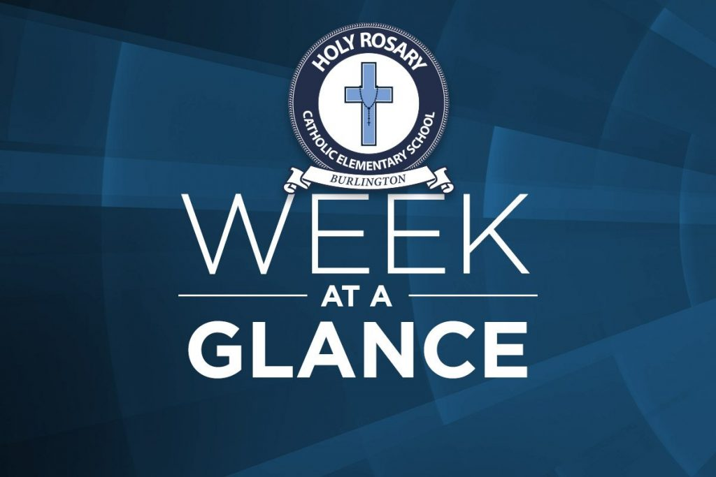 Week of June 3-7