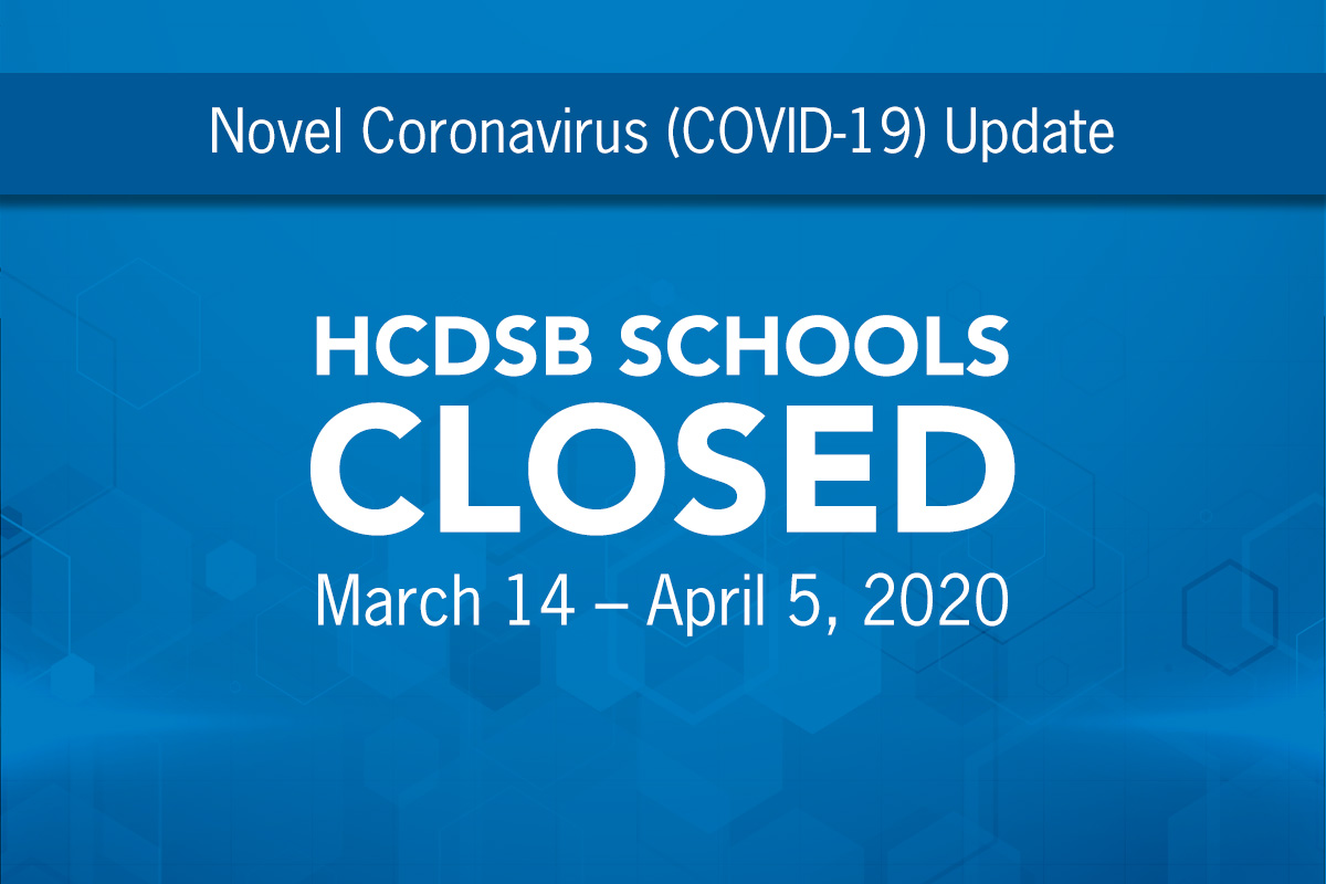 All Schools Will be CLOSED from March 14 to April 5, 2020